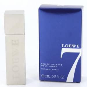 -Mini Perfumes Hombre - Loewe 7 Eau de toilette by Loewe - CAJA AZUL 2ml. (IDEAL COLECCIONISTAS) (Últimas Unidades)