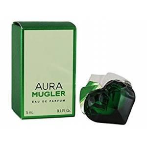-Mini Perfumes Mujer - Aura Mugler eau de parfum 5 ml BY Thierry Mugler . (Últimas Unidades)