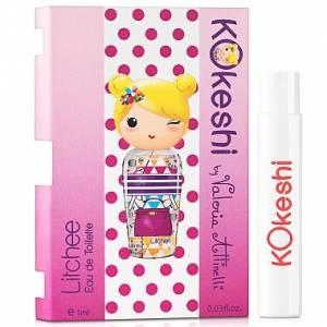 -Mini Perfumes Mujer - Kokeshi LITCHEE EDT by Valeria Attinelli 1,2ml. (Últimas Unidades)