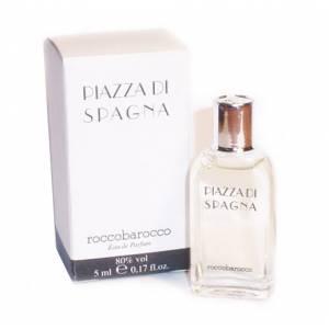 -Mini Perfumes Mujer - Piazza di Spagna Eau de Parfum by Roccobarocco 5ml. (Cajas con ligeras marcas) (Últimas Unidades)