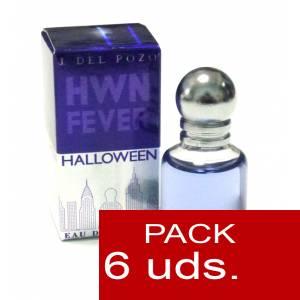 .PACKS PARA BODAS - Halloween Fever Eau de Parfum de Jesús del Pozo 4.5 ml PACK 6 UNIDADES